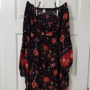 Old Navy Floral Top, Size 4x